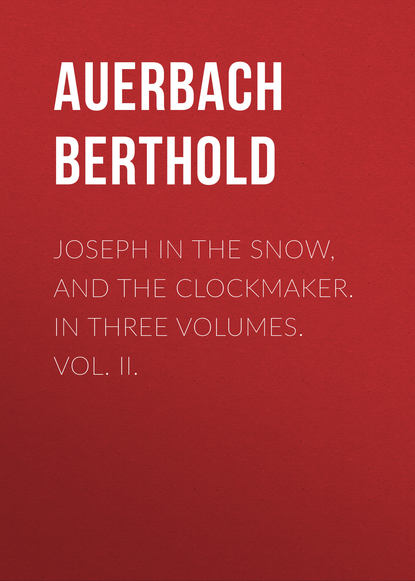 Обложка «Joseph in the Snow, and The Clockmaker. In Three Volumes. Vol. II.»