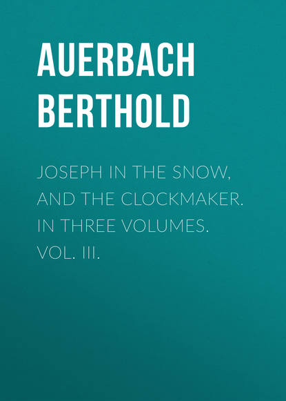 Обложка «Joseph in the Snow, and The Clockmaker. In Three Volumes. Vol. III.»