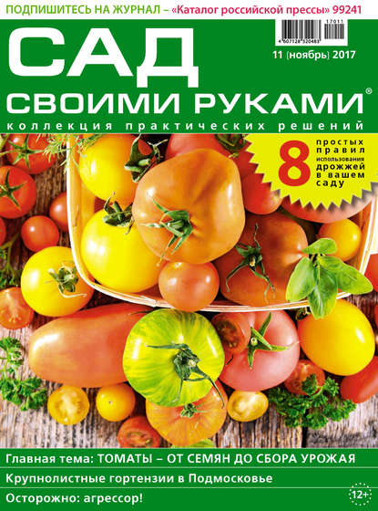 Обложка «Сад своими руками №11/2017»