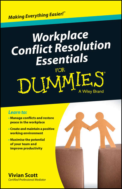 Обложка «Workplace Conflict Resolution Essentials For Dummies»