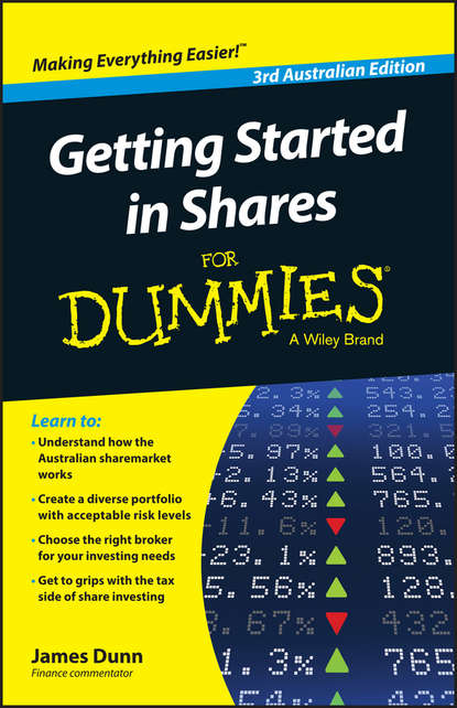 Обложка «Getting Started in Shares For Dummies Australia»
