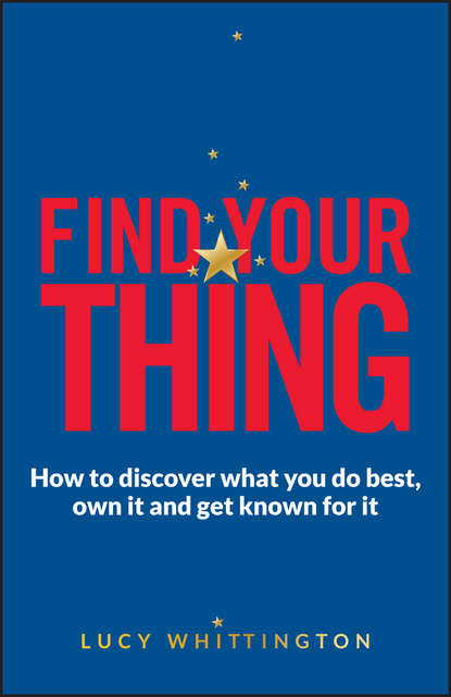 Обложка «Find Your Thing»