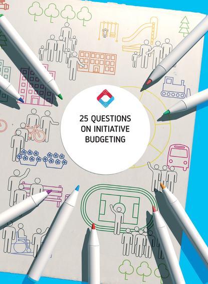 Обложка «25 Questions on Initiative Budgeting: manual»