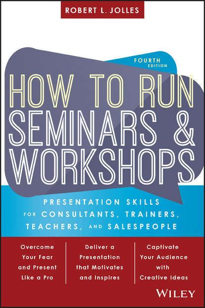 Обложка «How to Run Seminars and Workshops»