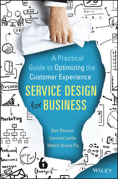 Обложка «Service Design for Business»