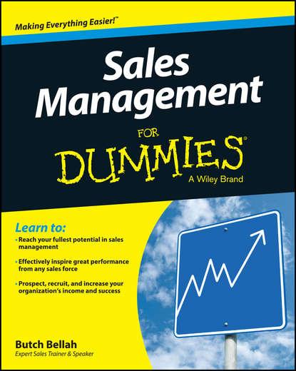 Обложка «Sales Management For Dummies»