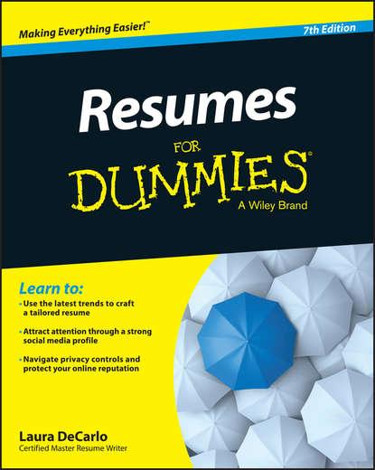 Обложка «Resumes For Dummies»