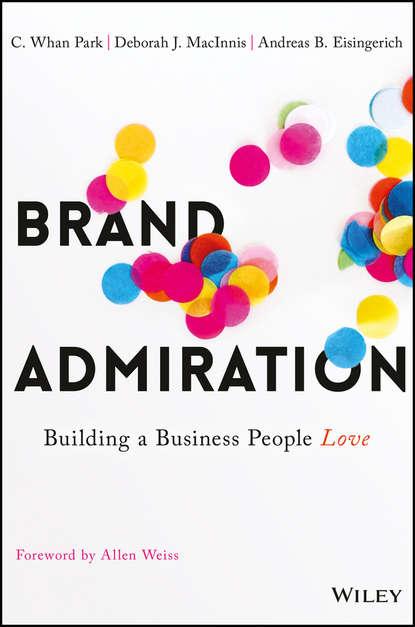 Обложка «Brand Admiration»