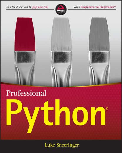 Обложка «Professional Python»