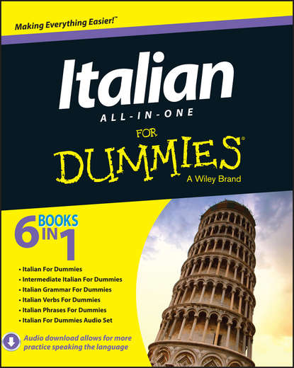 Обложка «Italian All-in-One For Dummies»