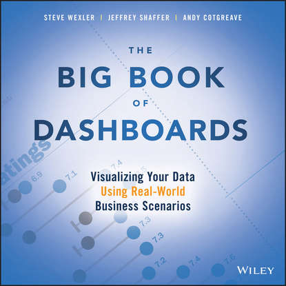 Обложка «The Big Book of Dashboards. Visualizing Your Data Using Real-World Business Scenarios»
