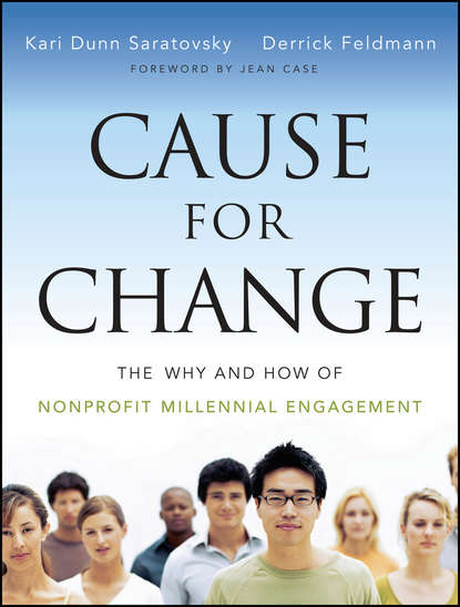 Обложка «Cause for Change. The Why and How of Nonprofit Millennial Engagement»