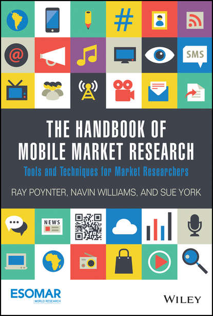 Обложка «The Handbook of Mobile Market Research. Tools and Techniques for Market Researchers»