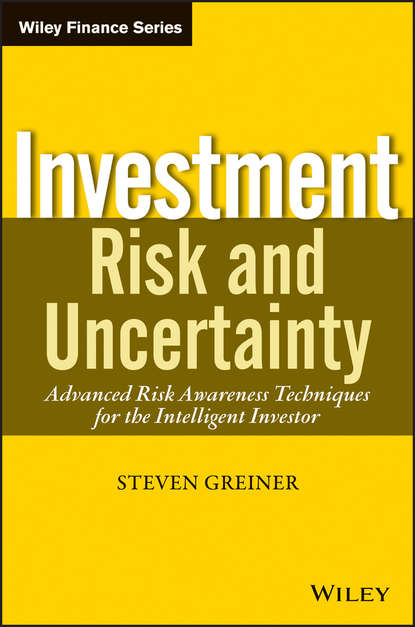 Обложка «Investment Risk and Uncertainty. Advanced Risk Awareness Techniques for the Intelligent Investor»