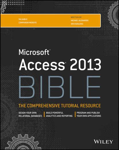 Обложка «Access 2013 Bible»