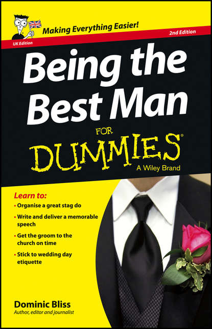 Обложка «Being the Best Man For Dummies - UK»