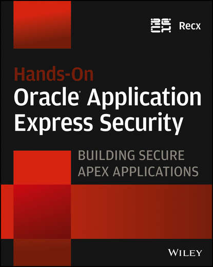 Обложка «Hands-On Oracle Application Express Security. Building Secure Apex Applications»