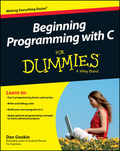 Обложка «Beginning Programming with C For Dummies»