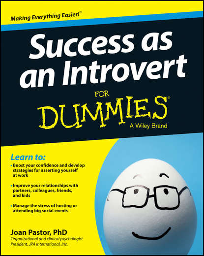 Обложка «Success as an Introvert For Dummies»