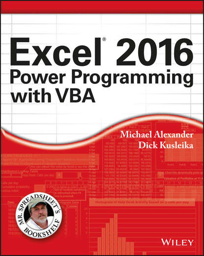 Обложка «Excel 2016 Power Programming with VBA»