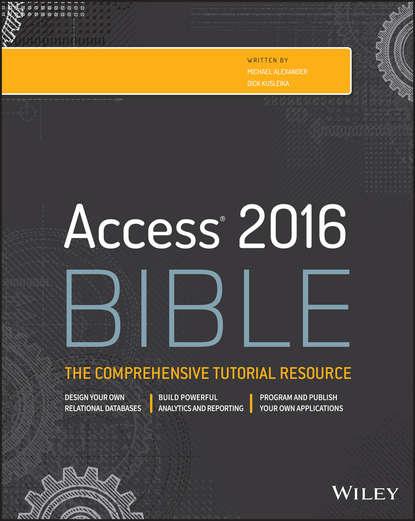 Обложка «Access 2016 Bible»