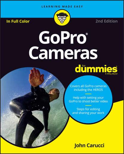 Обложка «GoPro Cameras For Dummies»
