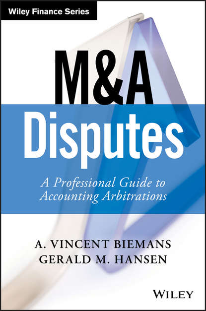 Обложка «M&A Disputes. A Professional Guide to Accounting Arbitrations»
