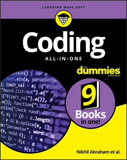 Обложка «Coding All-in-One For Dummies»