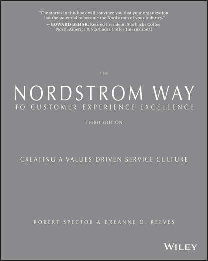 Обложка «The Nordstrom Way to Customer Experience Excellence. Creating a Values-Driven Service Culture»