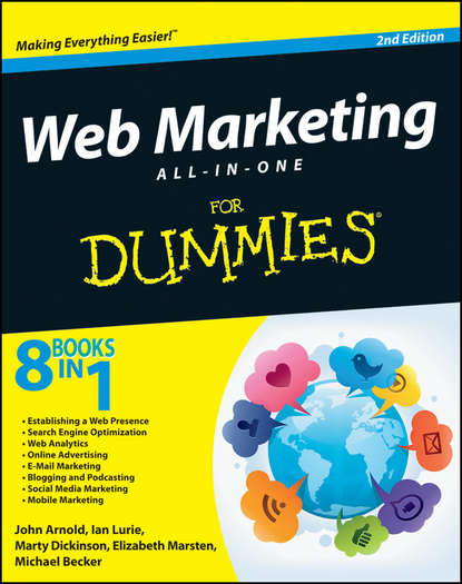 Обложка «Web Marketing All-in-One For Dummies»