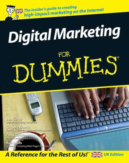 Обложка «Digital Marketing For Dummies»