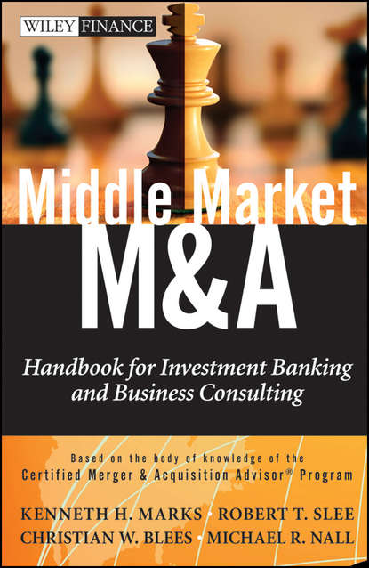 Обложка «Middle Market M & A. Handbook for Investment Banking and Business Consulting»