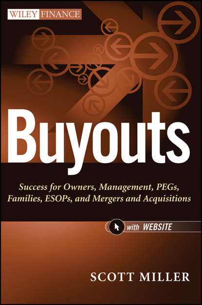 Обложка «Buyouts. Success for Owners, Management, PEGs, ESOPs and Mergers and Acquisitions»