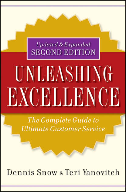 Обложка «Unleashing Excellence. The Complete Guide to Ultimate Customer Service»