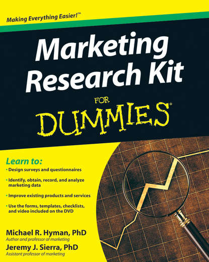 Обложка «Marketing Research Kit For Dummies»