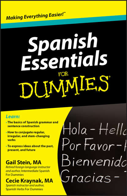 Обложка «Spanish Essentials For Dummies»