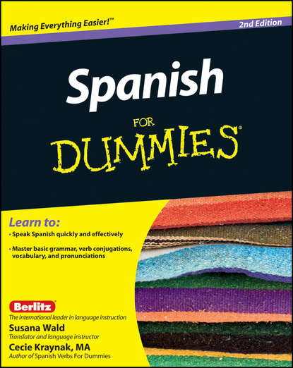 Обложка «Spanish For Dummies»