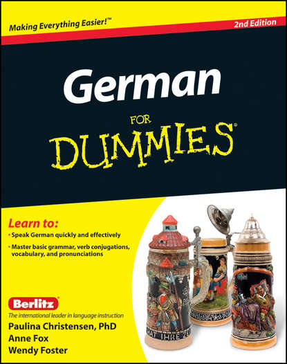 Обложка «German For Dummies, Enhanced Edition»