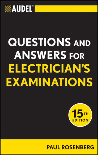 Обложка «Audel Questions and Answers for Electrician's Examinations»