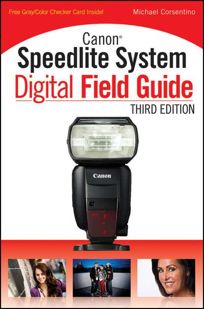Обложка «Canon Speedlite System Digital Field Guide»