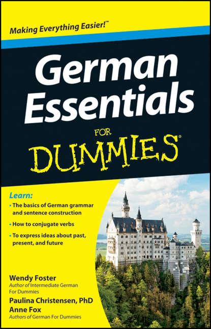 Обложка «German Essentials For Dummies»
