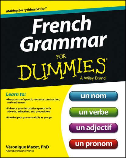 Обложка «French Grammar For Dummies»
