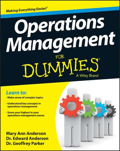 Обложка «Operations Management For Dummies»