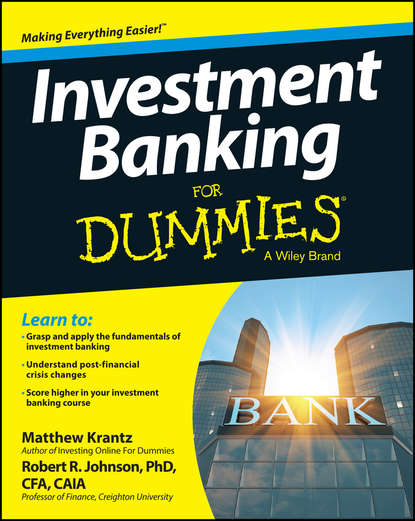 Обложка «Investment Banking For Dummies»