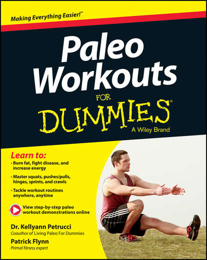 Обложка «Paleo Workouts For Dummies»