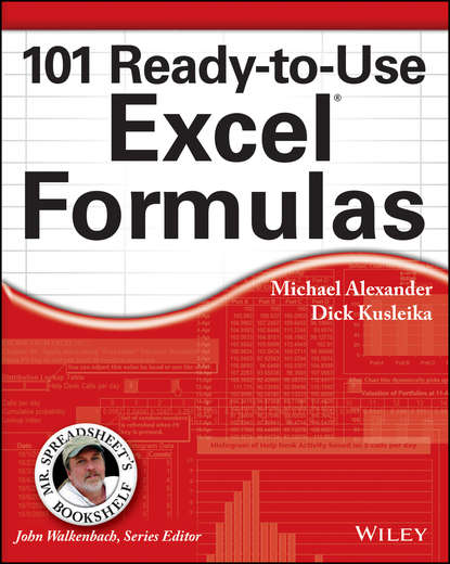 Обложка «101 Ready-to-Use Excel Formulas»
