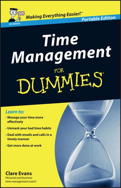 Обложка «Time Management For Dummies – UK»