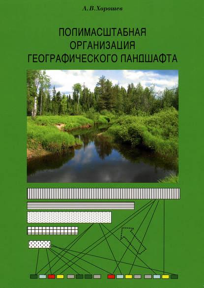 Обложка «Полимасштабная организация географического ландшафта»