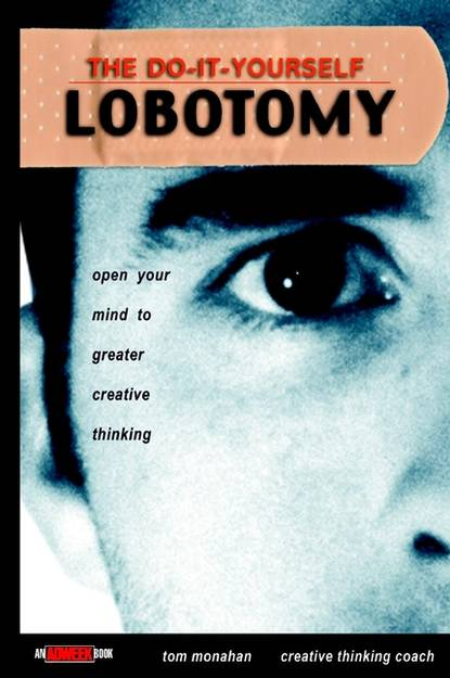 Обложка «The Do-It-Yourself Lobotomy. Open Your Mind to Greater Creative Thinking»