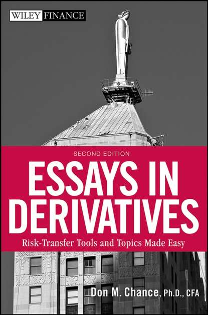 essays derivatives don chance Buy essays in derivatives (frank j fabozzi series) by don m chance (1998-08-31) by don m chance (isbn: ) from amazon's book store everyday low prices and free delivery on eligible orders.